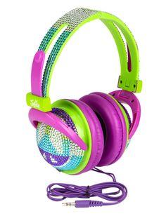 Bling & Peace Signs Headphones | Headphones | Electronics | Shop Justice