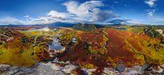 Vulcano Uzon Il mondo dall'alto: foto panoramiche da togliere il fiato - Focus.it