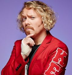 """Keith Lemon ~ Keith Ian Lemon is a fictional character portrayed by English comedian Leigh Francis.  Keith Lemon is loosely based on his best friend (whose name is also Keith Lemon). Lemon is easily distinguished by his Yorkshire accent, bleached hair, ginger moustache and fake tan. According to Francis, Lemon's background is that of a failed businessman who was most successful in 1993, when he won the prestigious Businessman of the Year award for his innovative creation, the """"securi-pole""""."""