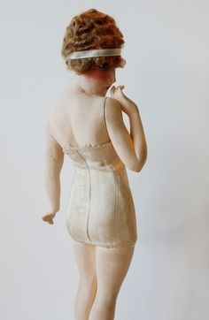 Warner's mannequin designed by French illustrator Maurice Milliere