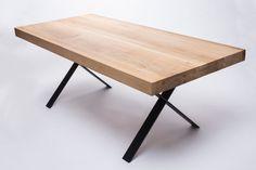 Wood & Steel Tables by 5mm.studio