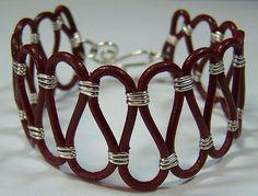 bracelet I love this open weave design