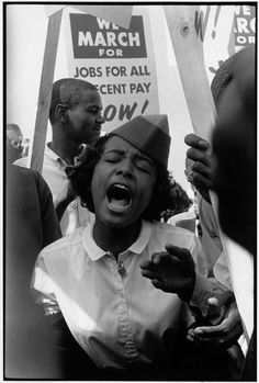 USA. Washington, D.C. August 28, 1963. The March on Washington.    Leonard Freed.