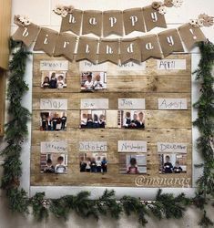 🎉🍂We are loving how our new nature-inspired birthday wall turned out! Check out the before and after! The kiddos were so excited to help create this little gem in our classroom that of course celebrates their birthday! Modern Classroom, Eyfs Classroom, Classroom Walls, Classroom Decor, Birthday Display In Classroom, Birthday Wall, Classroom Birthday Displays, Preschool Displays, Preschool Birthday