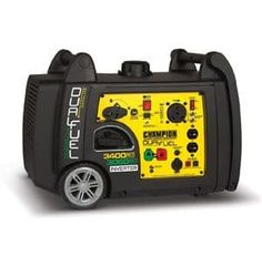 Champion Power Equipment Inverter Gasoline/Propane Portable Generator at Lowe's. Champion Power Equipment 100263 portable inverter generator is the perfect combination of versatility and convenience whether you need power for Dual Fuel Generator, Emergency Generator, Camping Generator, Portable Inverter Generator, Emergency Power, Rv Camping, Camping Trailers, Camping Stuff, Travel Trailers