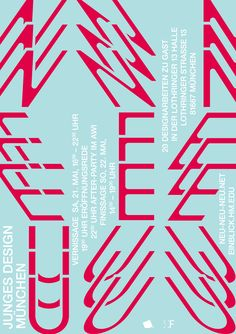 Eine Ausstellung, in welcher die Arbeiten von 21 Absolventen der Fakultät für Design, Hochschule München präsentiert werden. Mit der in Eigeninitiative organisierten Veranstaltung schaffen sich die Studenten aus den Disziplinen Kommunikations-, Foto- und Industriedesign eine Plattform und möchten auf junges Design aus München aufmerksam machen. Die Ausstellung findet am 21. und 22. Mai in der [...]