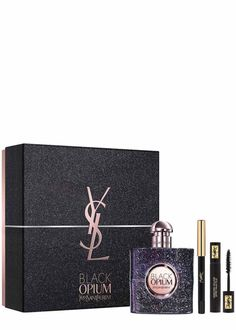 Black Opium Nuit Blanche Eau de Parfum Make Up Gift Set....A seductive white coffee floral fragrance designed to give the wearer a burst of energy to last through the night!