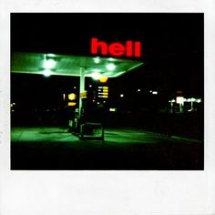 ☞ Dash Snow ~ Untitled (Hell) [2005]
