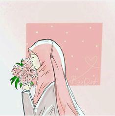 Sükut-u Lisan Selameti ? Couple Cartoon, Girl Cartoon, Cartoon Art, Hijab Drawing, 4 Wallpaper, Islamic Cartoon, Hijab Cartoon, Islamic Girl, Islamic Pictures