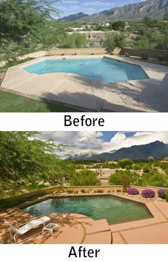 Tucson Pool Renovation By Patio Pools And Spas.