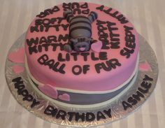 For the love of cats and Sheldon from The Big Bang Theory Birthday Cake!