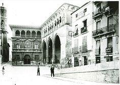 Alcañiz, 1940 Louvre, Street View, Building, Travel, Circuit, Antique Photos, Viajes, Buildings, Destinations
