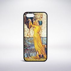 Osman Hamdi Bey - Lady Who Fits Thevase Phone Case