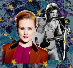NYLON: Read Evan Rachel Wood's Tribute to David Bowie