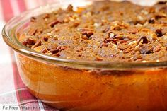 Need a vegan do-over of your family recipe for yams? Just for you, this Sweet Potato Casserole with Pecan Topping. Whole Food Recipes, Cooking Recipes, Family Recipes, Family Meals, Kids Meals, Kabasa Recipes, Quorn Recipes, Cajun Recipes, Kitchen Recipes