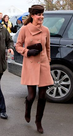 a1c63d98152 Kate Middleton and Prince William Join Up For a Day at the Races: Kate  Middleton attended The Cheltenham Festival in England. : Kate Middleton and  Prince ...