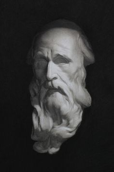 Cast Drawing in Charcoal and Chalk by Simon Mckeown