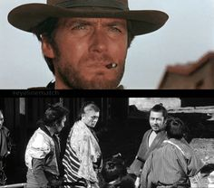 Leone x Kurosawa A Fistful of Dollars (1964), Director: Sergio Leone Yojimbo Movie (1961), Director: Akira Kurosawa