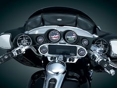 Traditional 3-Pouch Fairing Bag - Kuryakyn - Le Rock - Parts & Accessories for Harley-Davidsons