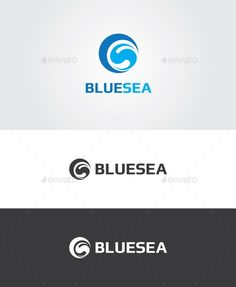 Blue Sea Logo template
