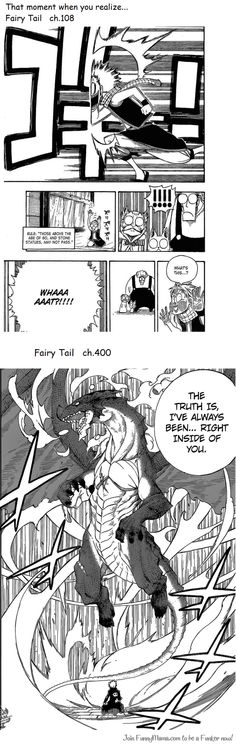 Fairy tail, not exactly, if you think about the newer chapters natsu, gajeel and the other dragon slayers were born over 400 years ago they were just brought to the future so they are still over 400 years old Fairy Tail Love, Fairy Tail Ships, Fairy Tail Anime, Zeref, Gruvia, Dramas, Fariy Tail, Fairy Tail Guild, Dragon Slayer