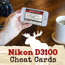 Mooseu0027s Nikon D3100 Tips Tricks u0026 Best Settings & Nikon D3100 Cheat Sheet - Great set of cheat sheets for getting ... azcodes.com
