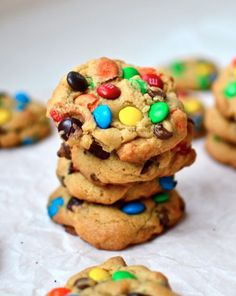 The Fat Chewy M&M Cookies [RECIPE]