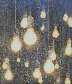 Like this picture Frank Brunner, Wall Candy, Light Bulb, Objects, Pictures, Photos, Artwork, Painting, Home Decor