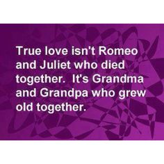 """Both sets of my grandparents lived 50+ yrs together....That """"til death do we part"""" used to mean something!"""