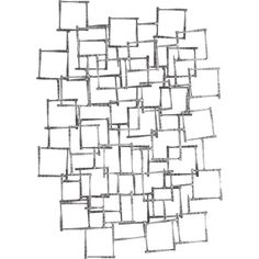 Arteriors Ecko Geometric Iron Wall Sculpture ($420) ❤ liked on Polyvore featuring home, home decor, backgrounds, fillers, art, effects, decor, doodles, quotes and scribble
