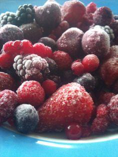 Congelamento de alimentos (frutas )… como fazer ?