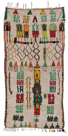 View this item and discover similar for sale at - 20068 Vintage Berber Moroccan Azilal Rug with Modern Tribal Design. This hand-knotted wool vintage Berber Moroccan Azilal rug features modern tribal design. Modern Moroccan, Moroccan Rugs, African Rugs, African Art, Rugs On Carpet, Carpets, Unique Rugs, Studio Apartment, Bohemian Rug