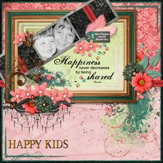 I used Shared Happiness Kit by Elizabeth's Market Cross.