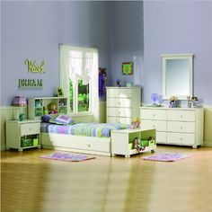 South Shore Sand Castle Kids Twin Wood Mates Storage Bed 5 Piece Bedroom Set in White - Listing price: $1,307.83 Now: $697.86