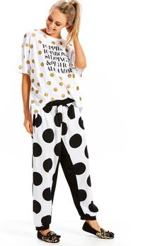 Image for Luxe Drop It Like Its Spot Pj Pant from Peter Alexander