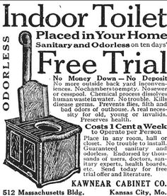 COMFORT CABINET: In the October 12, 1917 Country Gentleman