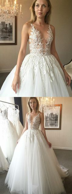 ball gown wedding dresses,tulle wedding dresses,unique wedding dresses,lace wedding dresses