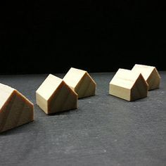 Items similar to 20 miniature wooden houses . little houses . little wooden houses. it takes a village doll house decor on Etsy Little Cottages, Little Houses, Petits Cottages, Lemon Lush, A Fine Romance, Halloween Coloring, Miniature Houses, House In The Woods, Holiday Gift Guide