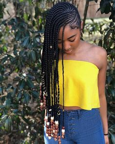 African braids look trendy, provide your hair a rest and may give protection. we've found fashionable Ways to Rock Trendy African Braids Hairstyles for black women. Box Braids Hairstyles, My Hairstyle, African Hairstyles, Girl Hairstyles, Hairstyle Photos, Protective Hairstyles, Black Hairstyle, Amazing Hairstyles, Hairstyles Videos