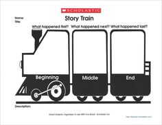 Graphic Organizer: Story Train - Scholastic Printables