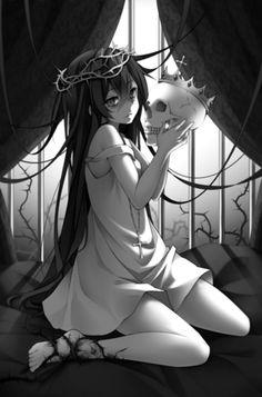 monochrom anime | via Tumblr
