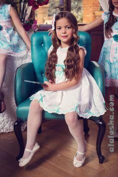 ALALOSHA: VOGUE ENFANTS: Bea Cadillac SS14 Blue