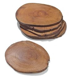 simple wooden coasters