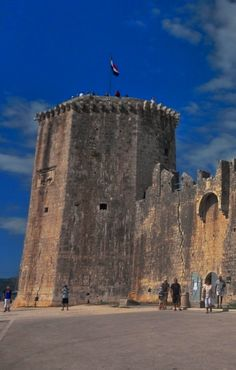 Kamerlengo Castle, Trogir, Croatia