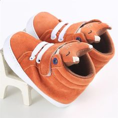 Amiley Cut Fox Baby Girl Boy Soft Booties Snow Boots Infant Toddler Newborn Warming Shoes
