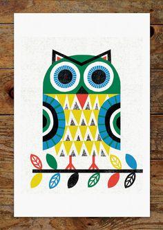 Nordic Folk Art Print - Buscar con Google