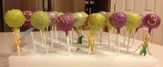 Image result for tinkerbell cakepops