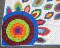 Custom Applique Quilt Portion of Proceeds to by PippaPatchwork. , via Etsy.