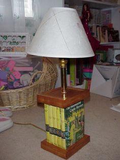 Nancy Drew Book Lamp
