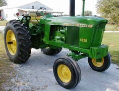 "1960s john deere 4020 - I was the luckiest ""town"" kid I knew.  From ages 8 to 14 (1967-1973), I got to work every summer on my uncle's farm.  The 4020 was our ""big"" tractor.  TAO"